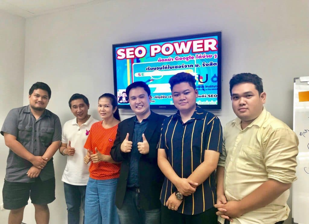 teaching seo at RSU 03