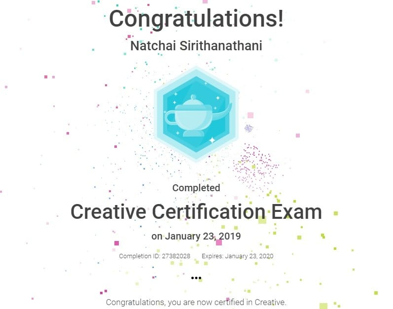 creative certification
